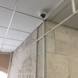 Купольная камера наблюдения