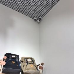 Установка видеокамер на потолок